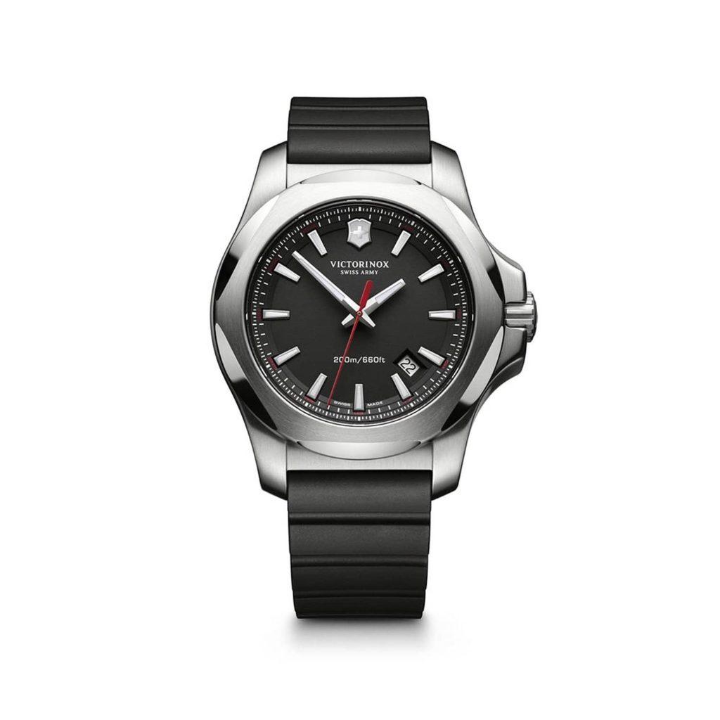 Victorinox Uhren Swiss Army Herren-Armbanduhr XL Analog Quarz Kautschuk