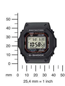 G-Shock Herren-Armbanduhr Funk-Solar-Kollektion Digital Quarz GW-M5610-1ER