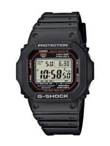 Herren Funkuhr G-Shock Herren-Armbanduhr Funk-Solar-Kollektion Digital Quarz GW-M5610-1ER